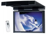 "Power Acoustik PT-151CM 15.4"" Widescreen Digital TFT-LCD Flip Down Monitor with Remote Control"