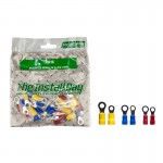 Install Bay IBR16 Assorted #8/#10 Polybag Packed Vinyl Ring Package of 24