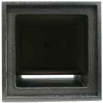 "Square Enclosure Vented 12"" Kicker Solobaric Square L3 L5 L7 Subwoofer Enclosure Sub Box"