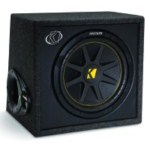 "Kicker VC12 12"" Subwoofer Enclosure 150 Watt 4 Ohm Impedance [10VC12-4]"