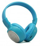 SPL HP-K1B 1-Ch Blue Colored Collapsible Ear Pads Single IR Headphone w/ Bag