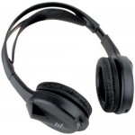 Planet Audio PHP22 One-Channel IR Wireless Headphones with Infrared Audio Transmitters