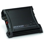 Kicker ZX400.1 Class D Amplifier 400 Watts RMS 2-Ohm Stable [10ZX400.1]