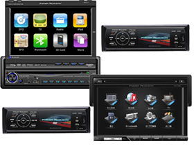 Head Units & Receivers by Power Acoustik