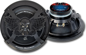 8-Inch Car Speakers by Power Acoustik at HalfPriceCarAudio.com