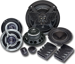 Power Acoustik Car Audio Speakers