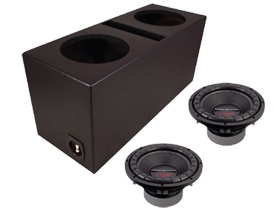 Power Acoustik Dual 12-Inch Sub Box Packages at HalfPriceCarAudio.com