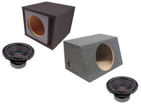 Power Acoustik Sub Box Packages at HalfPriceCarAudio.com