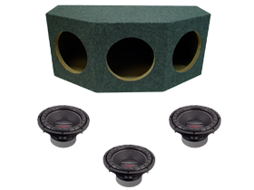Power Acoustik Triple 10