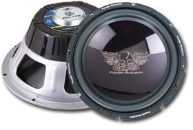 12-Inch Subwoofer by Power Acoustik at HalfPriceCarAudio.com