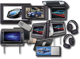 Car Video Monitors by Power Acoustik at HalfPriceCarAudio.com