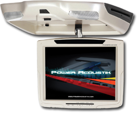 Overhead Monitor with DVD Player by Power Acoustik at HalfPriceCarAudio.com