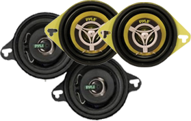 Pyle 3.5-Inch Car Speakers at HalfPriceCarAudio.com
