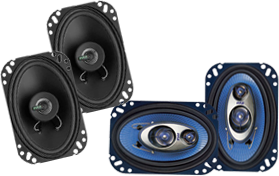 4X6-Inch Car Speakers by Pyle at HalfPriceCarAudio.com