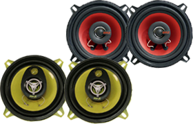 5.25-Inch Car Speakers by Pyle at HalfPriceCarAudio.com