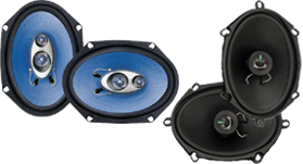 Pyle 5-Inch x 7-Inch & 6-Inch x 8-Inch Car Speakers at HalfPriceCarAudio.com