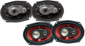 6-Inch X 9-Inch Car Speakers by Pyle at HalfPriceCarAudio.com