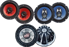 Pyle Car Speakers at HalfPriceCarAudio.com