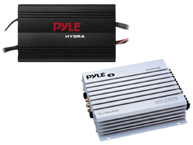 Pyle 4 Channel Marine Amps at HalfPriceCarAudio.com