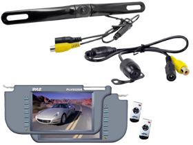 Pyle Rearview Mirror Monitor & Cameras