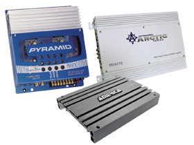 Pyramid 4-Channel Amps
