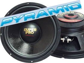 18 Inch Subs by Pyramid at HalfPriceCarAudio.com
