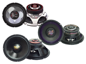 Pyramid 6.5 Inch Subwoofers