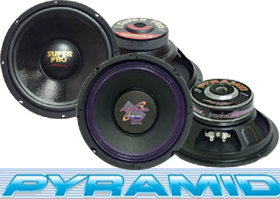 8 Inch Subs by Pyramid at HalfPriceCarAudio.com