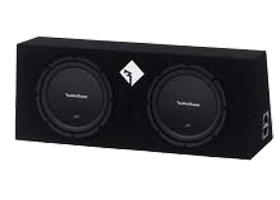 Rockford Fosgate Dual 10 Inch Amplified Packages