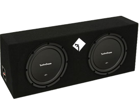Rockford Fosgate Dual 12 Inch Amplified Packages