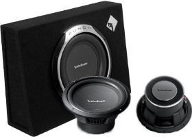 Rockford Fosgate Single 10 Inch Amplified Packages