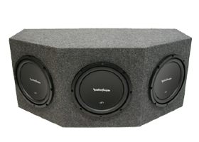 Rockford Fosgate Triple 10 Inch Amplified Packages