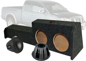 Rockford Fosgate Nissan Custom Subwoofer Packages