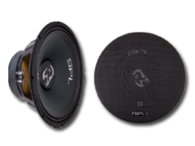 SPL 8 Inch Speakers here at HalfPriceCarAudio.com