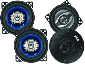 Sound Storm Lab 4 Inch Full Range Speakers