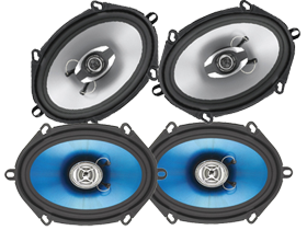 Sound Storm Lab 5 x 7 Inch Full Range Speakers