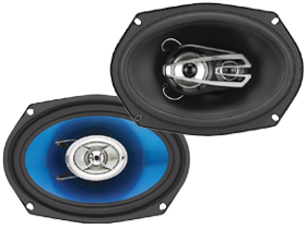 Sound Storm Lab 6 x 9 Inch Full Range Speakers
