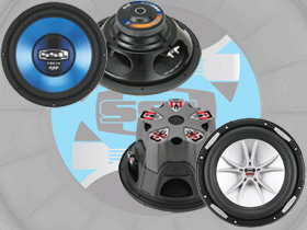 Sound Storm Lab Subwoofers