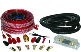 Sound Quest 0 Gauge Amplifier Installation Kits