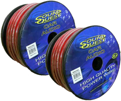 Sound Quest 8 Gauge Power Wire
