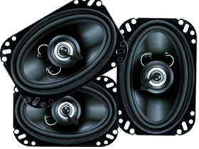 Planet Audio 4x6-Inch Car Speakers