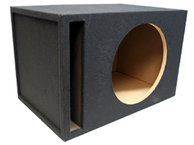 Single 18 Inch Vented Subwoofer Boxes