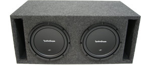 Rockford Fosgate Subwoofer Packages