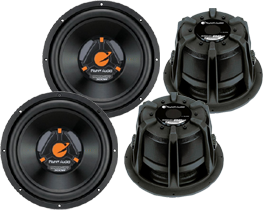 Planet Audio 10-Inch Car Subwoofers