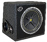 "Kicker VC124 Car Audio Single 12"" Ported Loaded Subwoofer Enclosure"