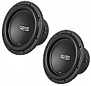 "(2) RE Audio SRX10 Car Stereo Dual 4 Ohm 1200 Watt Peak 10"" Sub Subwoofer Pair System"