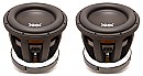 "(2) RE Audio XXX12 Car Stereo Dual 4 Ohm 8000 Watt Peak 12"" Sub Subwoofer Pair System"