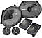 Kicker CSS684 6x8 Inch 2Way Component Speaker System with Extended Voice Coils (40CSS684)