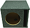 "Single 8"" Ported Subwoofer Box Enclosure (Gray)"