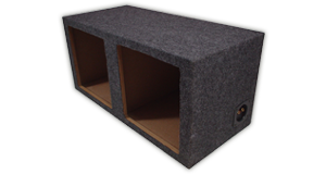 Kicker Dual 10 inch Subwoofer Enclosures